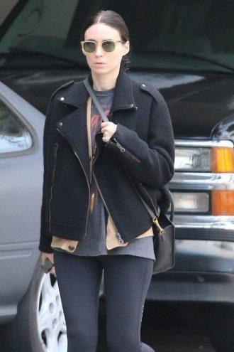 American Actress Patricia Rooney Mara Stylish Wool Jacket