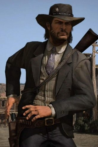 Red Dead Redemption 2 Video Game John Marston Black Blazer