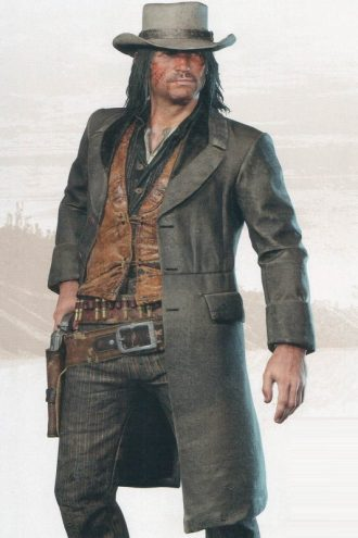 John Marston Cosplay Costume Coat
