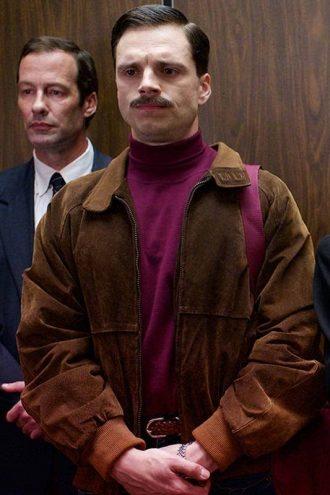 I Tonya Sebastian Stan Bomber Jacket