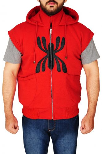 Spiderman Costume Hoodie Jacket