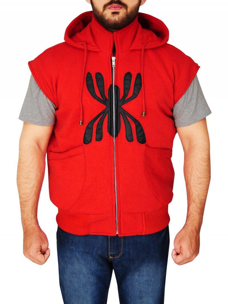 Spiderman Costume Hoodie Jacket