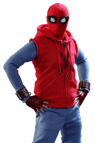 Fictional Superhero Spiderman Homecoming Hoodie