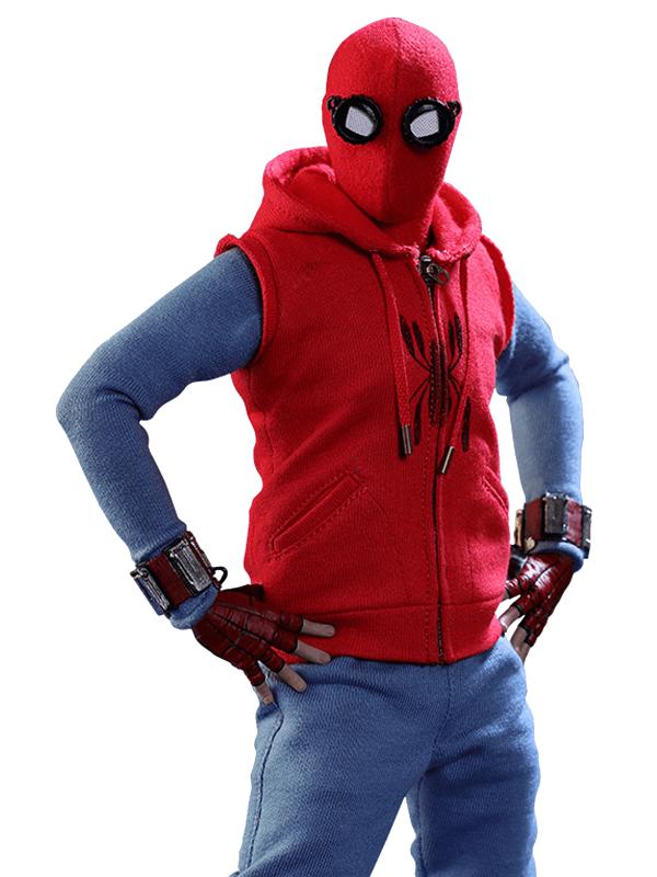Fictional Superhero Spiderman Homecoming Hoodie
