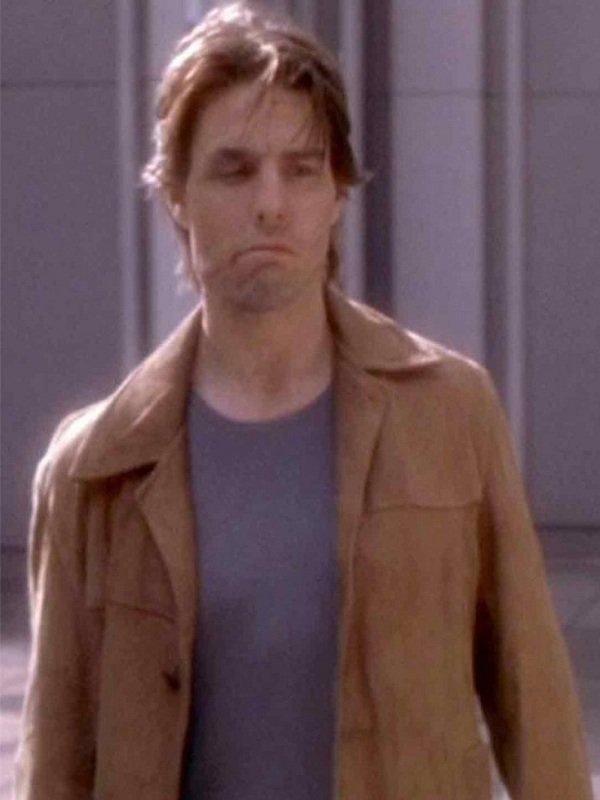 Tom Cruise Vanilla Sky David Aames Leather Jacket