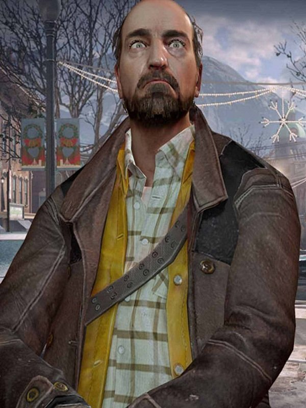 Video Game Dead Rising 4 Tom Pickton Leather Coat