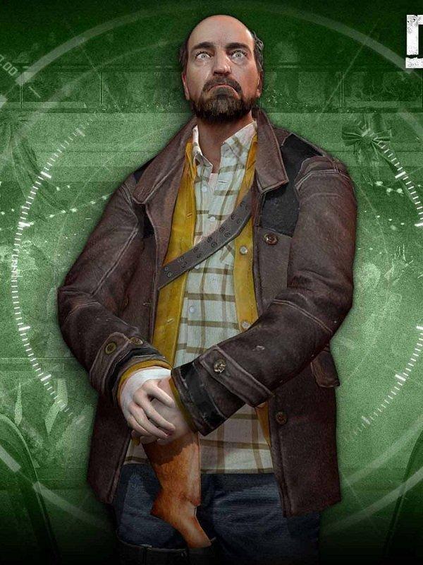 Dead Rising 4 Tom Pickton Brown Coat