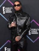 Tyga People's Choice Awards Leather Jacket