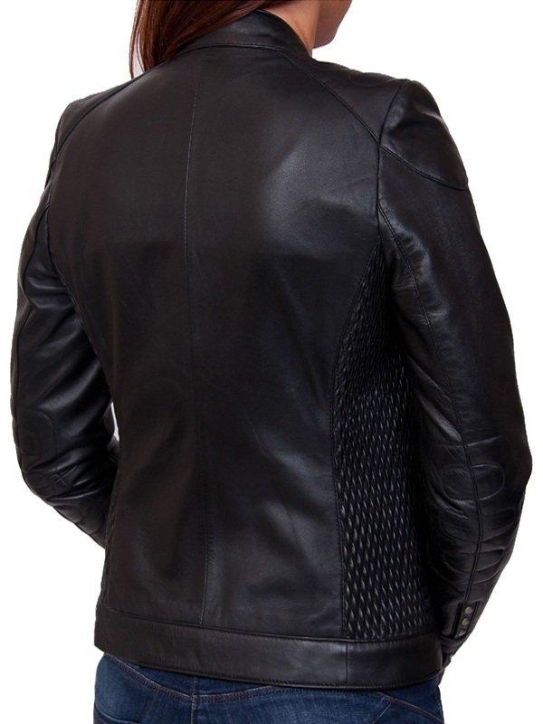 Street Style Black Leather Jacket