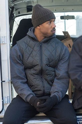 Creed Michael B Jordan Satin Vest