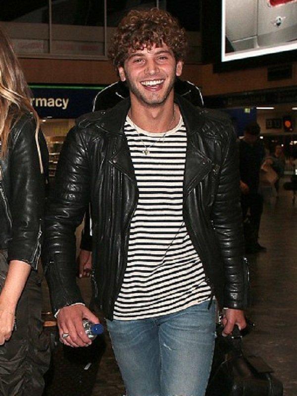Eyal Booker Black Leather Jacket