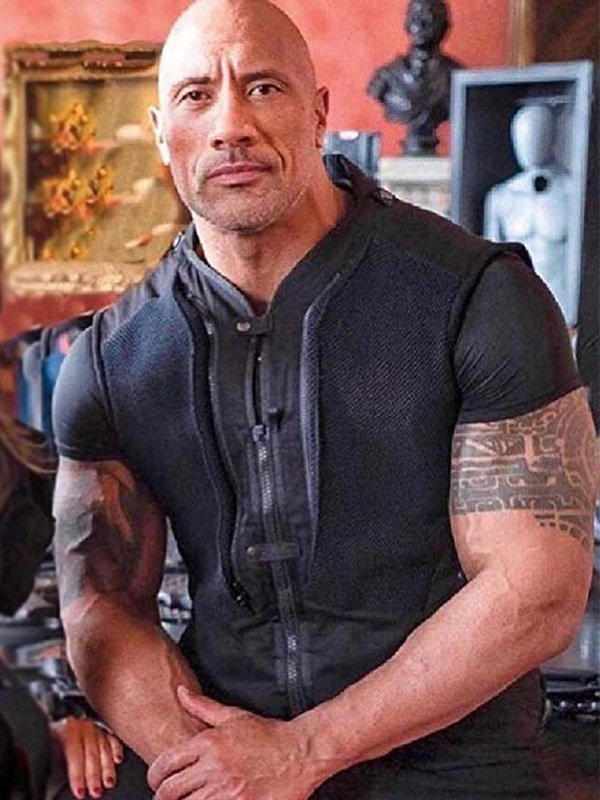Fast and Furious Presents Hobbs and Shaw Dwayne Johnson Vest