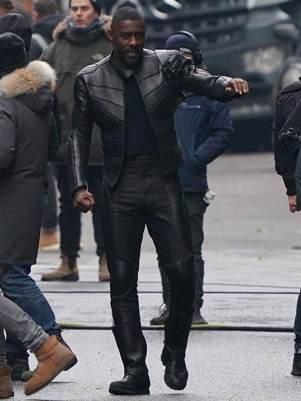 Idris Elba Fast & Furious Hobbs & Shaw Brixton Stylish Black Jacket