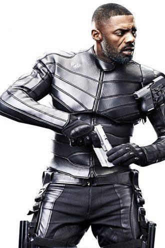 Idris Elba Fast & Furious Hobbs & Shaw Stylish Black Jacket