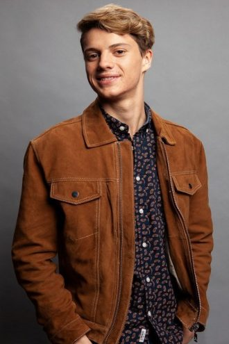 Jace Lee Norman Suede Brown Leather Jacket
