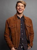 Jace Norman Stylish Suede Brown Jacket