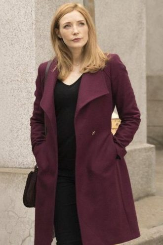 Salvation Grace Barrows Maroon Coat