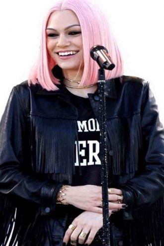 Jessie J Fringe NY Concert Black Jacket