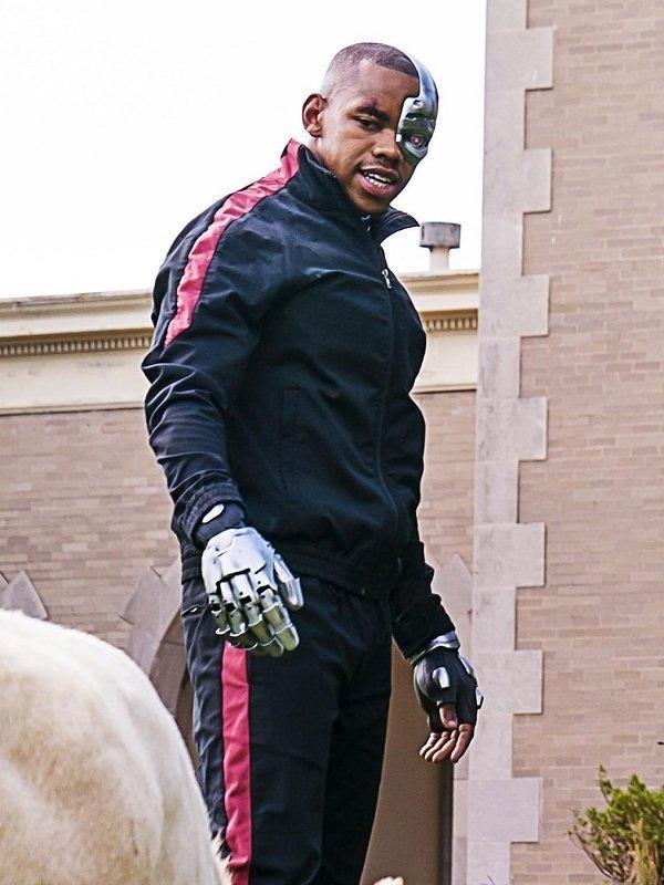 Doom Patrol Victor Stone Cyborg Jacket Top Celebs Jackets