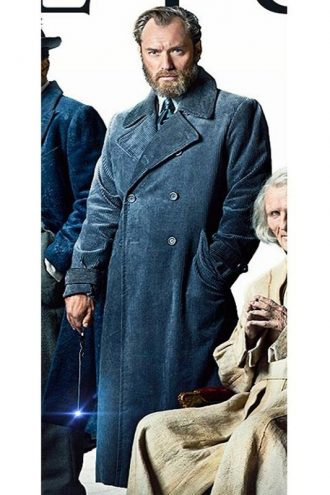 Fantastic Beasts The Crimes of Grindelwald Albus Dumbledore Trench Coat