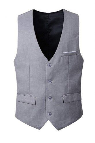 Albus Dumbledore Fantastic Beasts 2 Jude Law Grey Vest