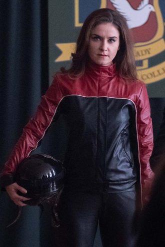 Derry Girls Ms De Brún Red Black Jacket