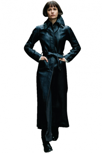Katherine Waterston Fantastic Beasts The Crimes Of Grindelwald Black Trench Coat