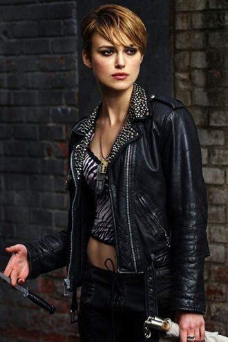 Domino Harvey Keira Knightley Leather Jacket