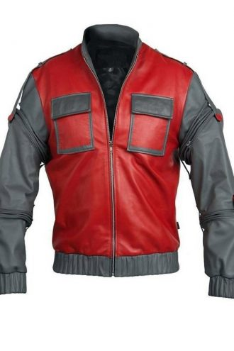 Back To The Future Part 2 Marty Mcfly Costume Jacket