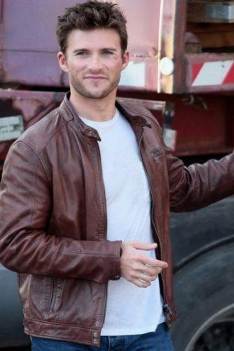 Overdrive Scott Eastwood Leather Jacket