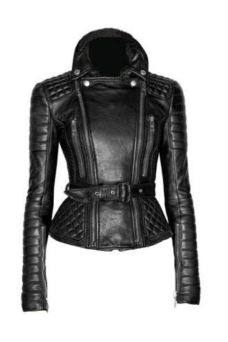 American Actress Rachel Bilson Leather Jacket