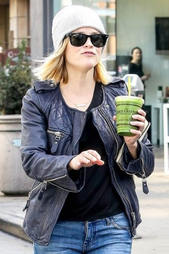 Reese Witherspoon Leather Jacket