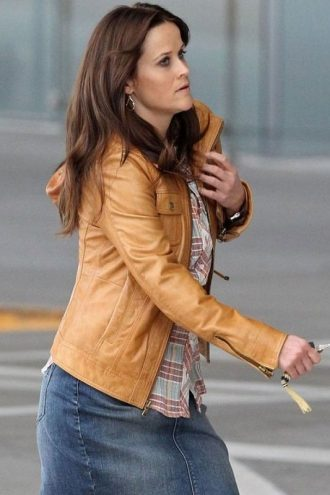 The Good Lie Movie Carrie Davis Leather Jacket