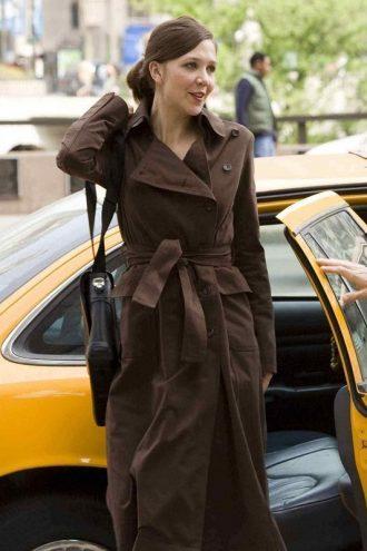 The Dark Knight Rachel Brown Trench Coat