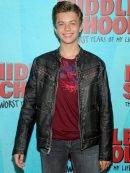 Actor Thomas Barbusca Stylish Black Leather Jacket