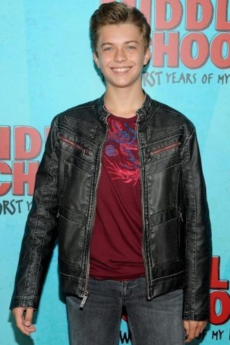 Actor Thomas Barbusca Stylish Black Leather Jacket