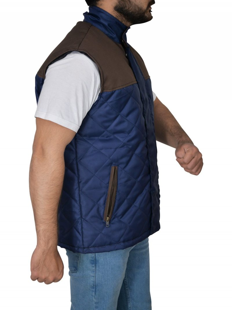 The 5th Wave Alex Roe Diamond Quilted Vest