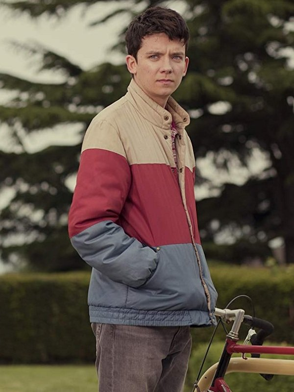 Sex Education Asa Butterfield Bomber Jacket