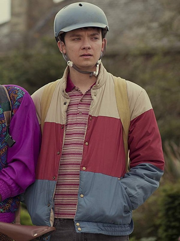Asa Butterfield Sex Education Otis Milburn Jacket
