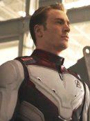 Avengers Endgame Captain America Cosplay Leather Jacket