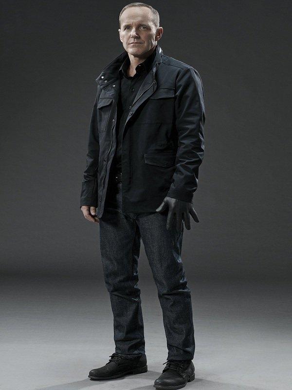 Clark Gregg Agents of Shield Season 3 Phil Coulson Black Jacket