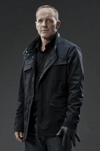 Agents of Shield Season 3 Phil Coulson Black Jacket