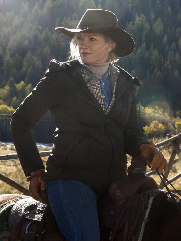 Yellowstone Evelyn Dutton Cotton Jacket