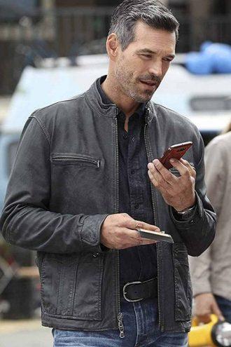 Eddie Cibrian Take Two Leather Jacket