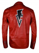 WWE Finn Balor Club Red Leather Jacket