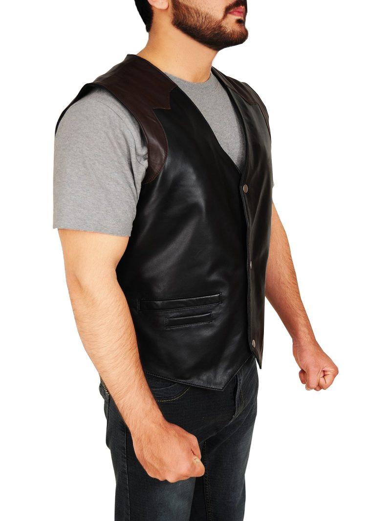 Men's Western Style Cowboy Vest