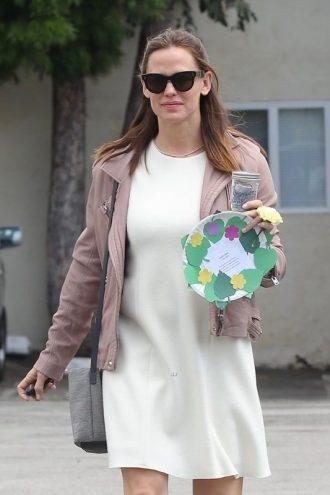 American Actress Jennifer Anne Garner Leather Jacket