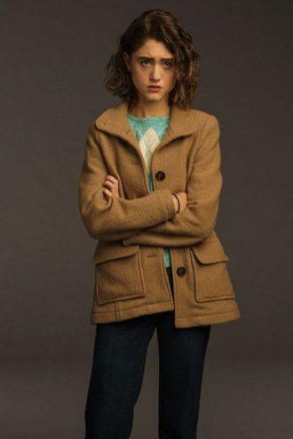 Stranger Things 3 Nancy Wheeler Wool Jacket