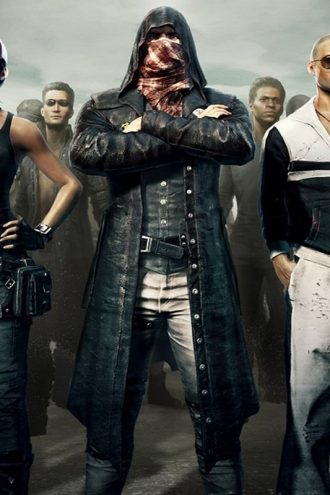 PUBG Playerunknown's Battlegrounds Leather Hoodie Coat