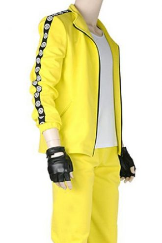 Game PUBG Costume Yellow Jacket